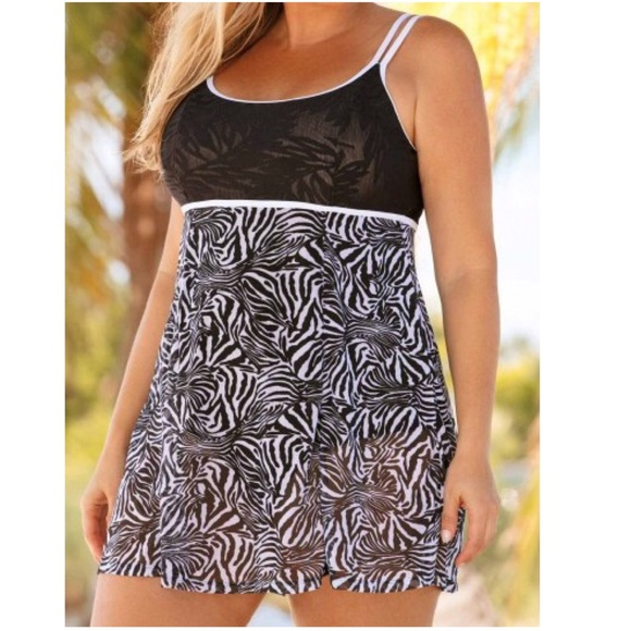 556390e5656 ✨New✨ Plus Size 2 piece swimdress